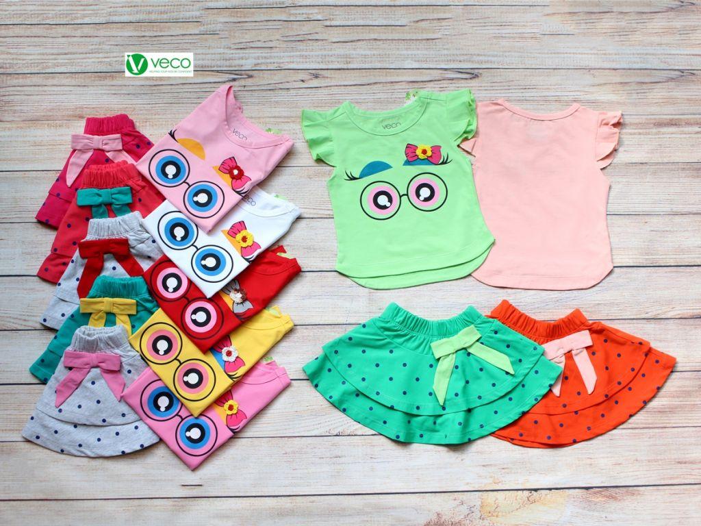 xưởng may quần áo trẻ em xuất khấu - bộ váy chào hè cùng bé (5)