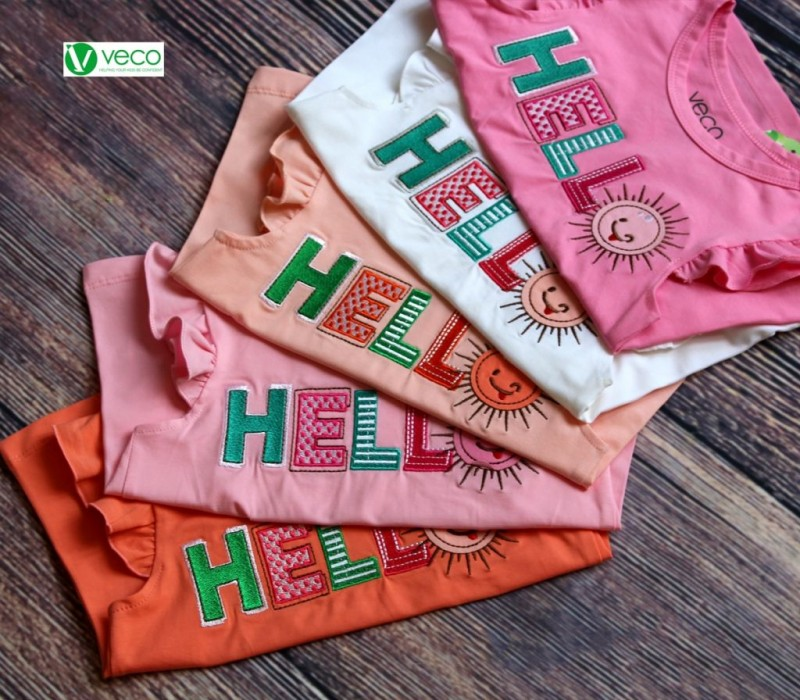thời trang trẻ em giá gốc tại xưởng - bộ sọt bé gái Hello