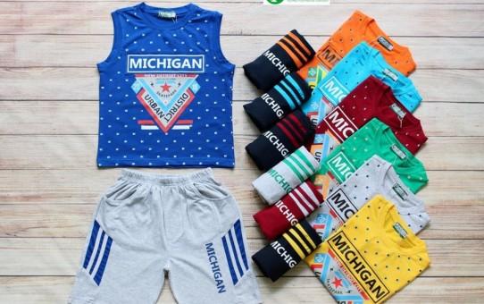 Xưởng may gia công thời trang trẻ em cao cấp xuất khẩu Veco- bộ thun nam mùa hè (1)
