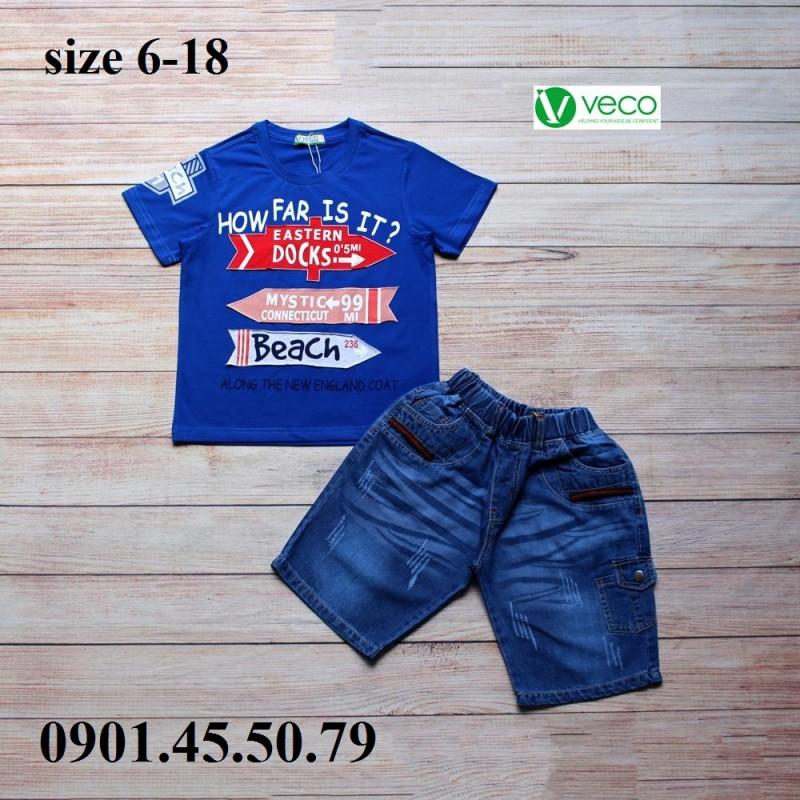 xưởng may gia công quần áo trẻ em xuất khẩu VECO- quần jean áo thun (1)