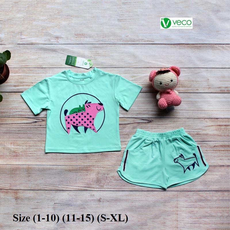 Xưởng may quần áo trẻ em giá sỉ VECO - bộ sọt bi dog (1)
