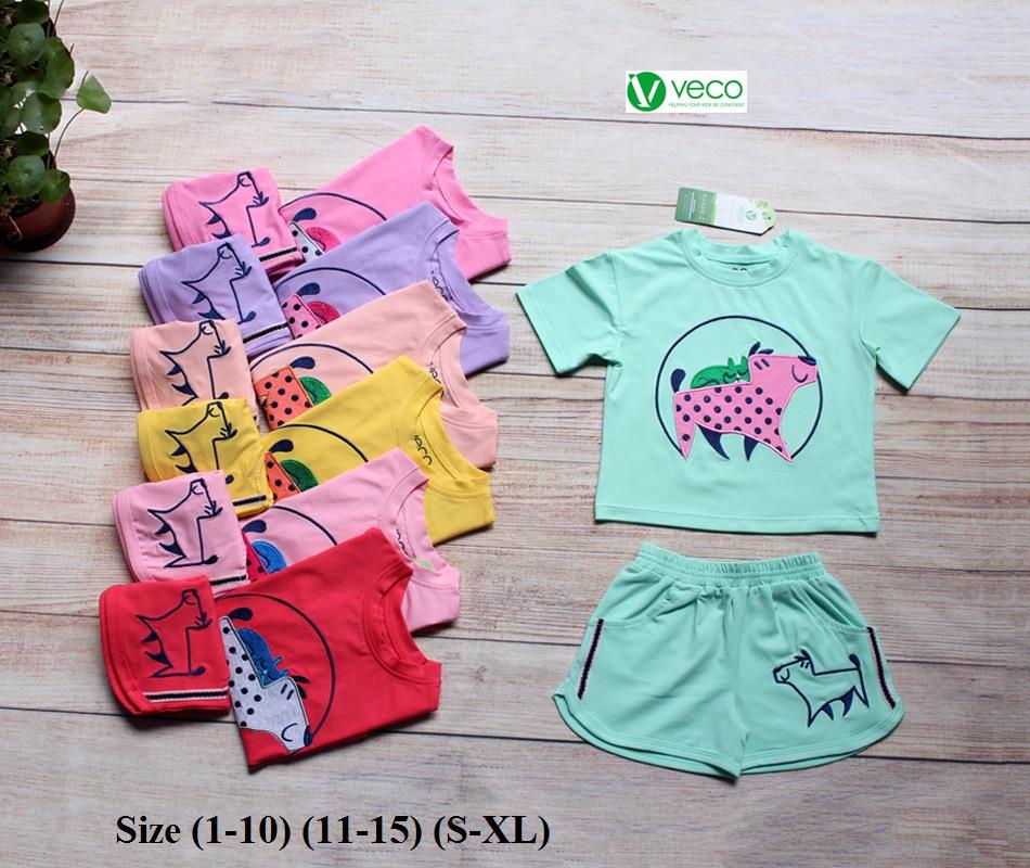 Xưởng may quần áo trẻ em giá sỉ VECO - bộ sọt bi dog (2)
