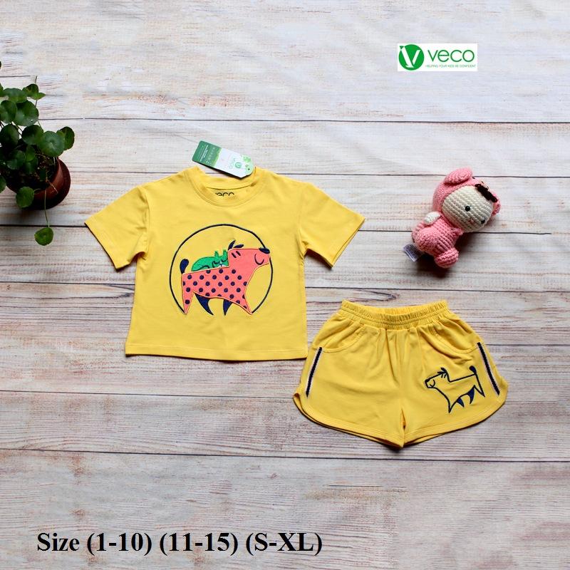 Xưởng may quần áo trẻ em giá sỉ VECO - bộ sọt bi dog (4)