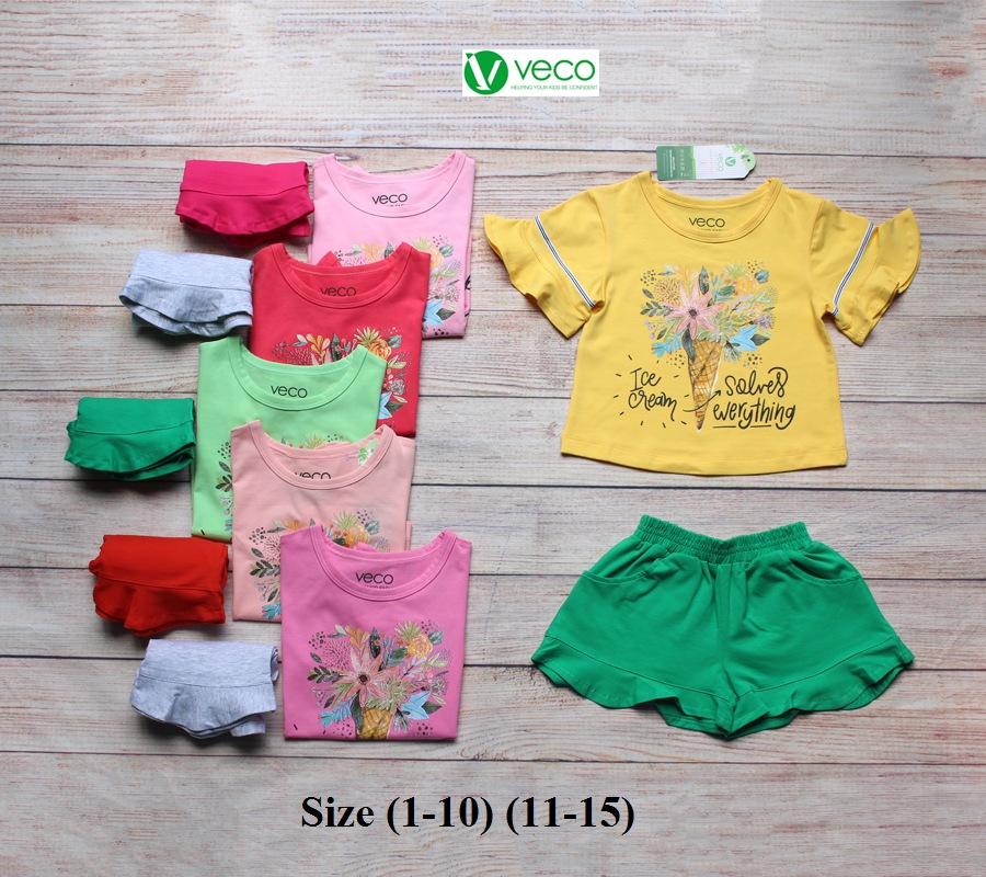 Xưởng may quần áo trẻ em xuất khẩu - bộ sọt kem bông (1)