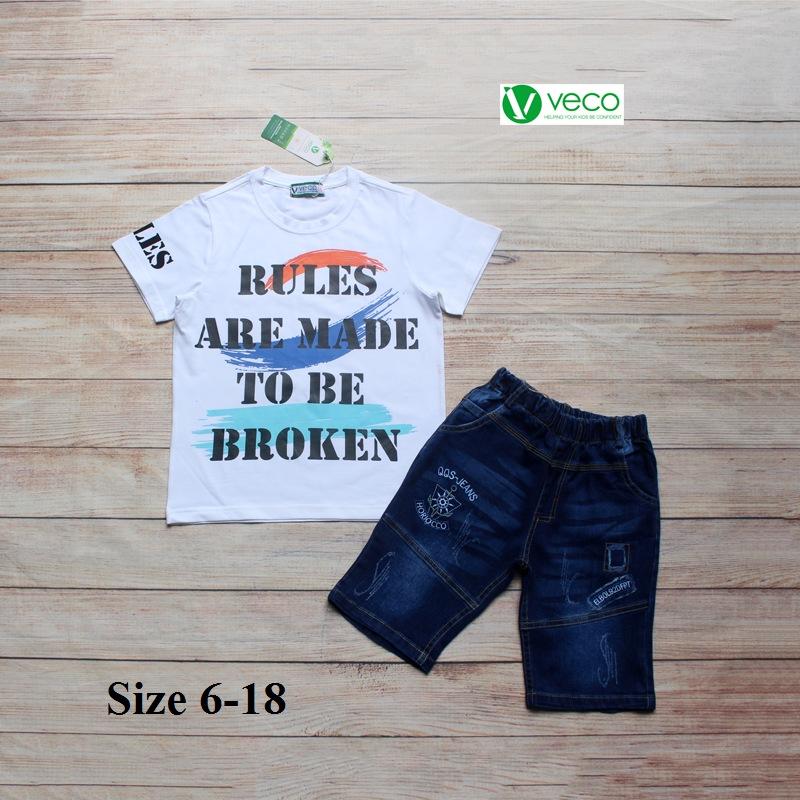 xưởng may quần áo trẻ em giá sỉ VECO - bộ jean nam Rules 50kg (7)