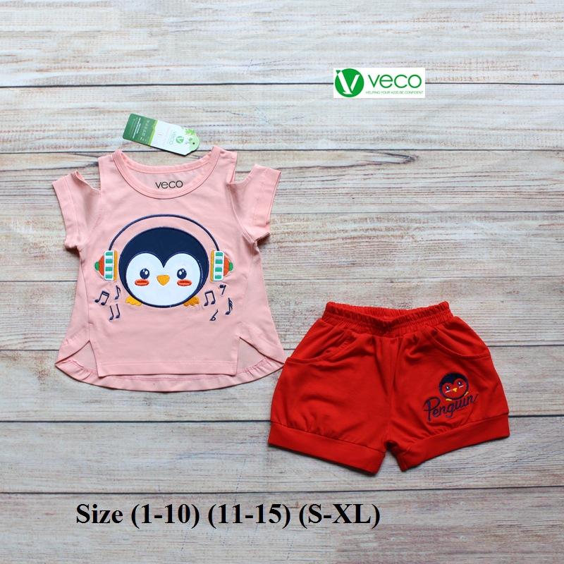 xưởng may quần áo trẻ em giá sỉ VECO - bộ sọt chim cánh cụt tai phone (4)