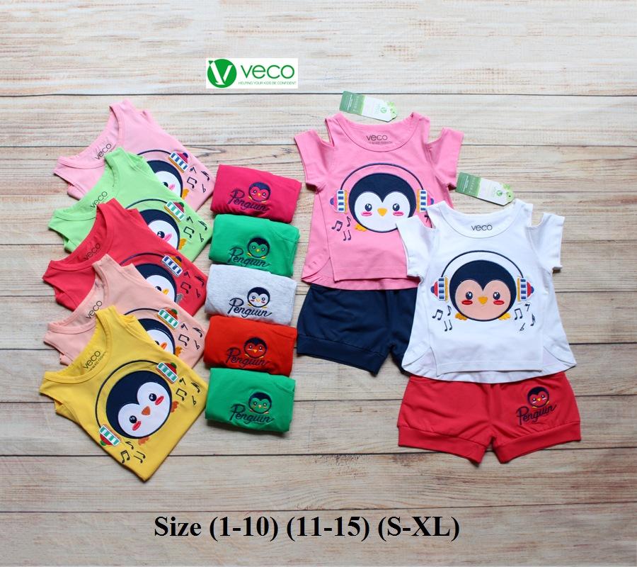 xưởng may quần áo trẻ em giá sỉ VECO - bộ sọt chim cánh cụt tai phone (9)