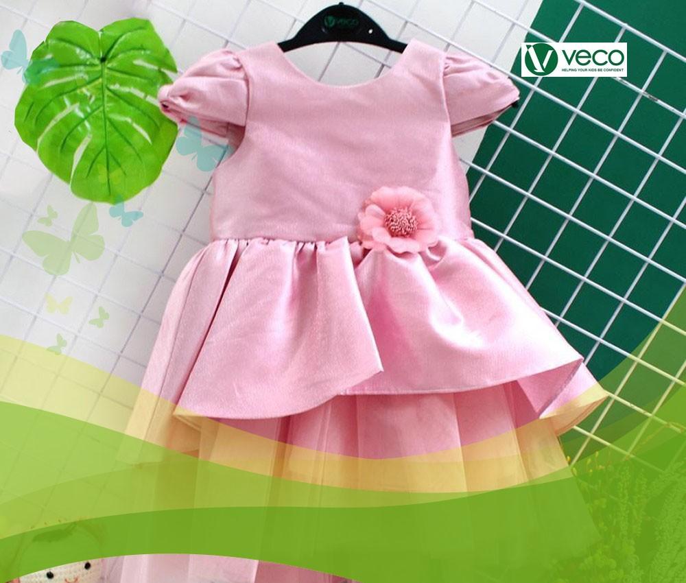 Quần áo Tết 2020 cho bé gái-Xưởng may quần áo trẻ em giá sỉ Veco
