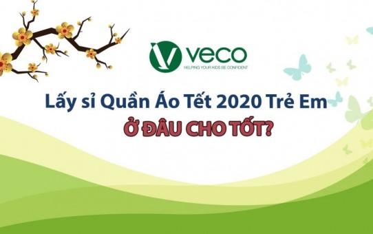 Lấy sỉ quần áo Tết 2020 trẻ em-Đến xưởng may quần áo trẻ em giá sỉ Veco