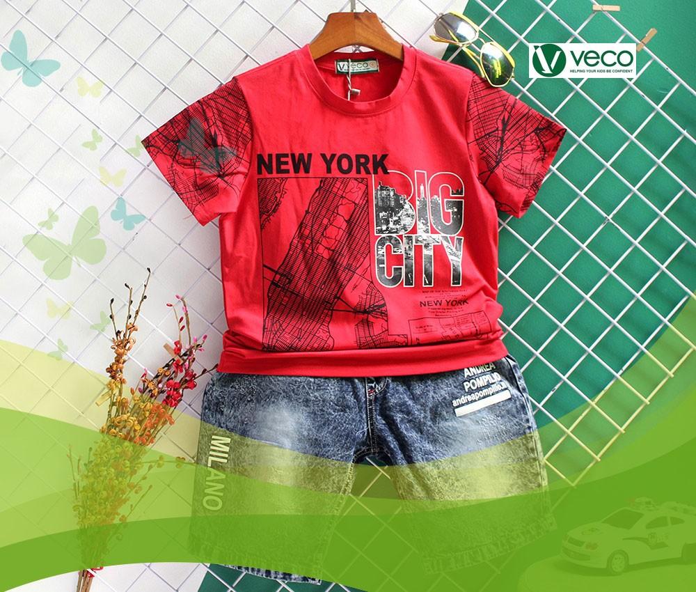 Xu hướng thời trang trẻ em nam Tết 2020-Xưởng may quần áo trẻ em giá sỉ Veco