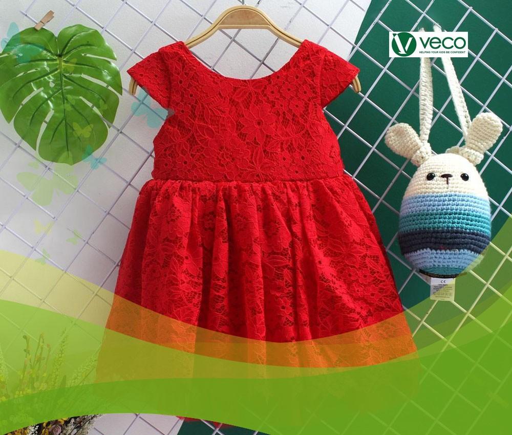 Xu hướng thời trang trẻ em nữ Tết 2020-Xưởng may quần áo trẻ em giá sỉ Veco